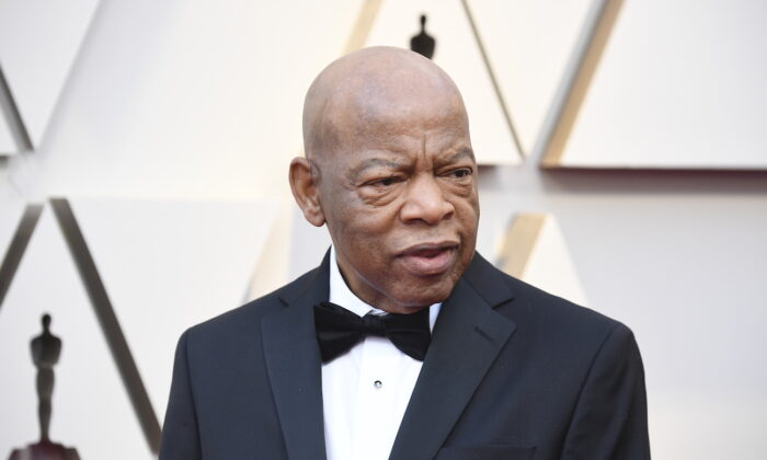 John Lewis at Hollywood and Highland in Hollywood, California, on Feb. 24, 2019. (Frazer Harrison/Getty Images)