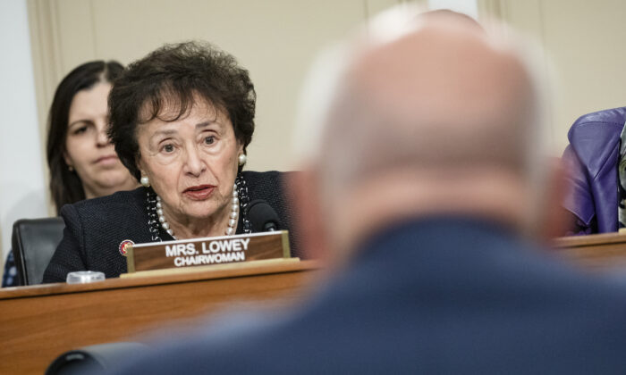 Chairwoman Nita Lowey (D-NY) speaks during a hearing on Capitol Hill, in Washington, on March 10, 2020. (Samuel Corum/Getty Images)