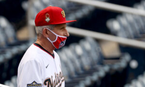 Fauci Responds to Criticism Over Taking Off Mask During Baseball Game