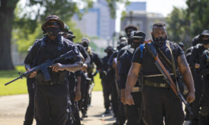 3 Injured in Shooting at Militia Protest Staging Area in Louisville
