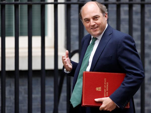 UK defence secretary Ben Wallace
