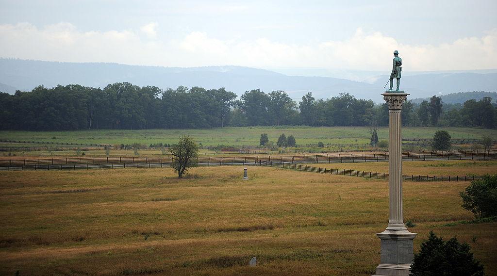 memorials at gettysburg