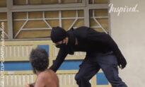 Ninja Helping The Homeless