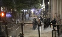 Portland Rioters Attack Courthouse Fence; Federal Officers Deploy Tear Gas