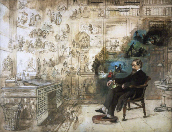 Buss, Robert William, 1804-1875; Dickens's Dream