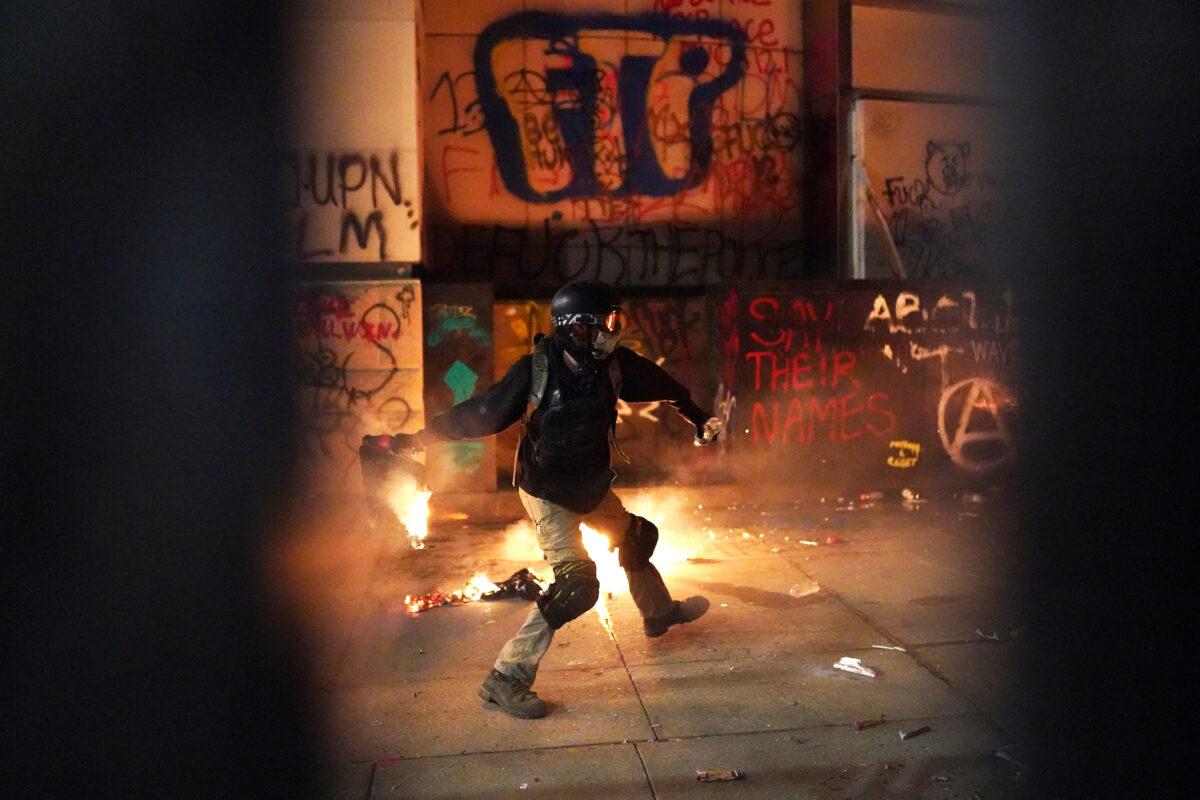 portland riot hatfield
