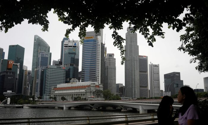 A view of Singapore skyline, amid the (COVID-19) outbreak, in Singapore, on July 14, 2020. (Edgar Su/File Photo/Reuters)
