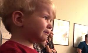 Toddler Moved to Tears Hearing Beethoven's Moonlight Sonata at His Sister's Piano Recital