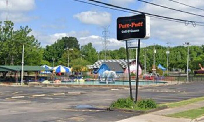 A Tennessee mini-golf center was severely damaged after hundreds of teenagers started destroying the establishment because they did not issue refunds. (Google Maps)