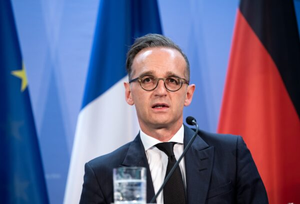 Germany Foreign Minister Heiko Maas