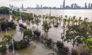 Flood Peak Moves Along China's Yangtze River, as Water Reaches Dangerous Levels