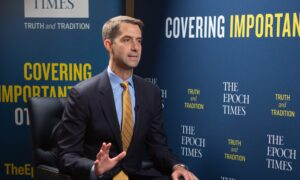 US Finally Pushing Back Against Chinese Communist Aggression: Sen. Cotton