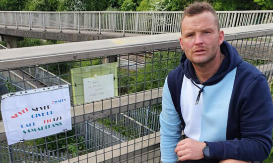 Derby Man Pins Handwritten Suicide-Prevention Notes on Bridges Persuading People Not to Jump