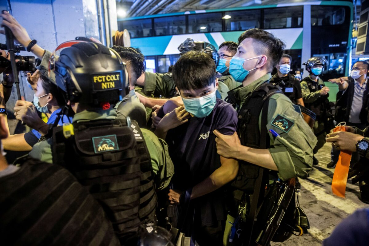 TOPSHOT-HONG KONG-CHINA-POLITICS-UNREST