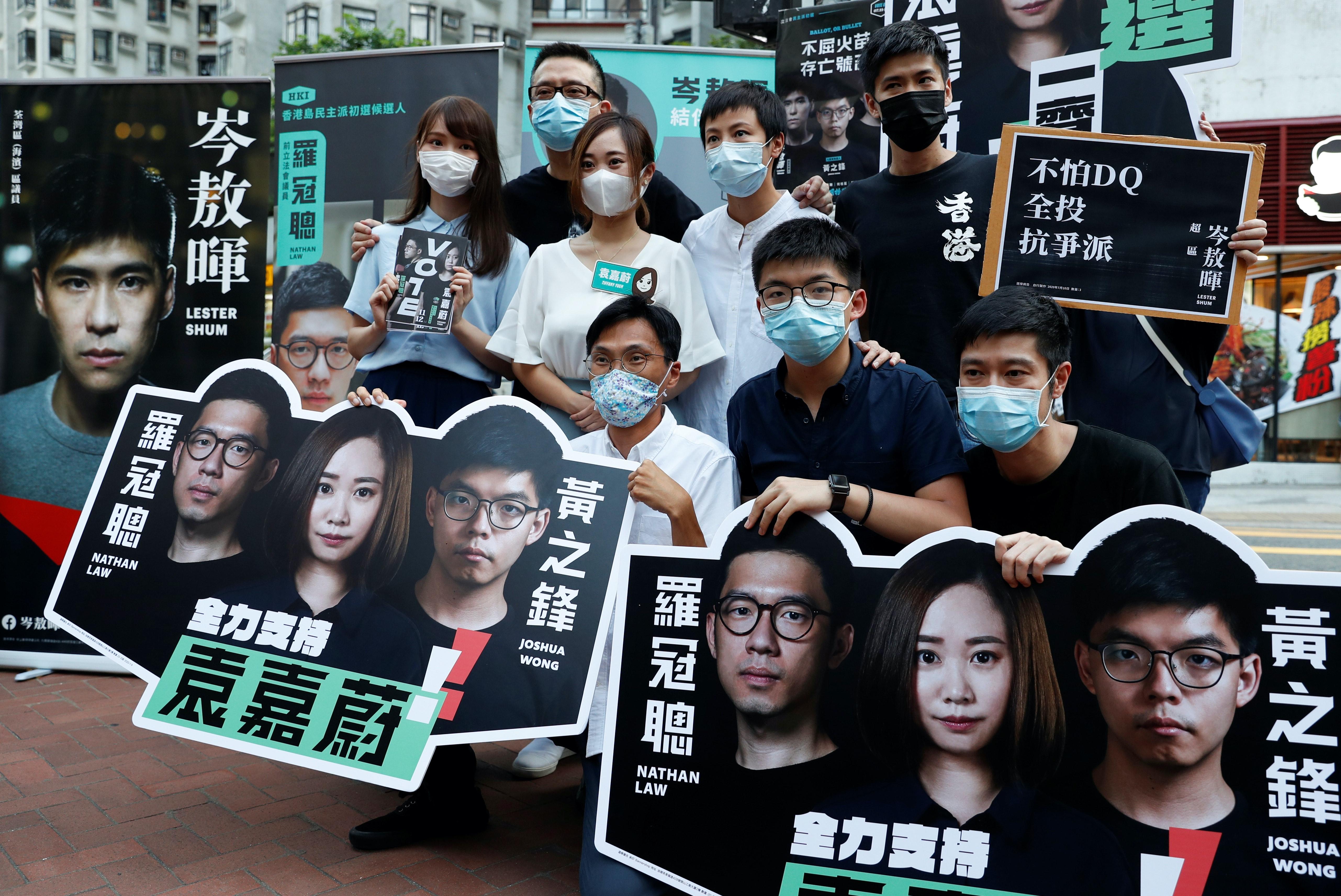 Hong Kong candidates