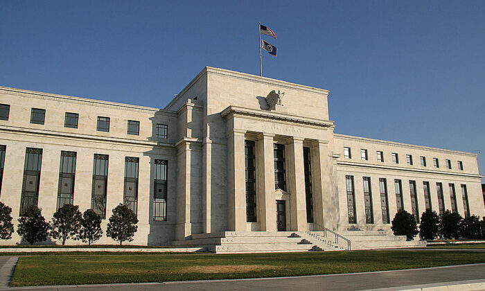 The U.S. Federal Reserve building, in this file photo. (Karen Bleier/AFP via Getty Images)