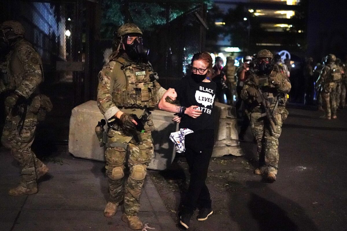 portland arrest