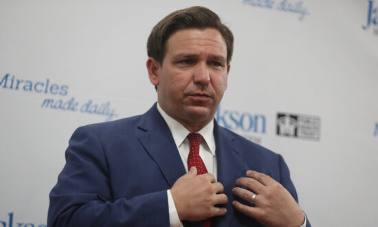 Gov. Ron DeSantis Declines Reporter's Request to Acknowledge Joe Biden