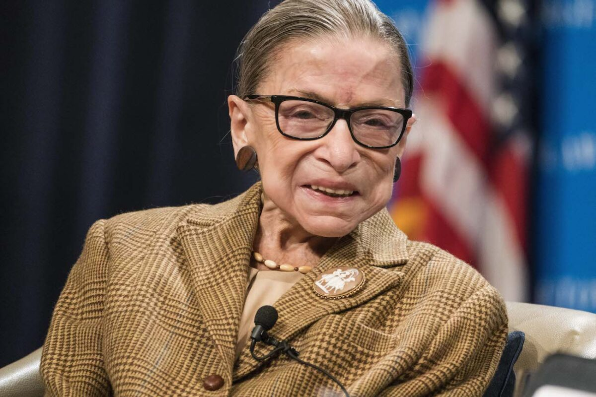 Justice Ruth Bader Ginsburg Dead at 87 of Cancer