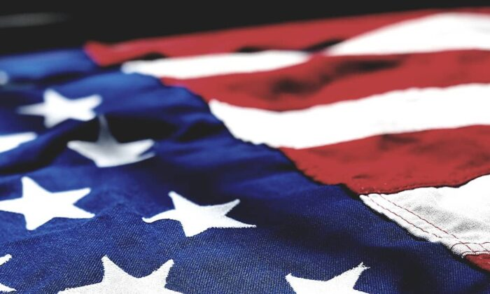 A file photo of the American flag.