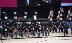 NBA Players Kneel During National Anthem as Season Resumes