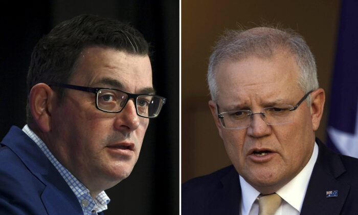 Prime Minister Scott Morrison (Sean Davey/Getty Images)
