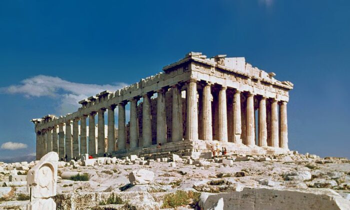 People prefer classic architecture. The Parthenon in Athens, Greece, 1978. (Steve Swayne/CC BY 2.0)