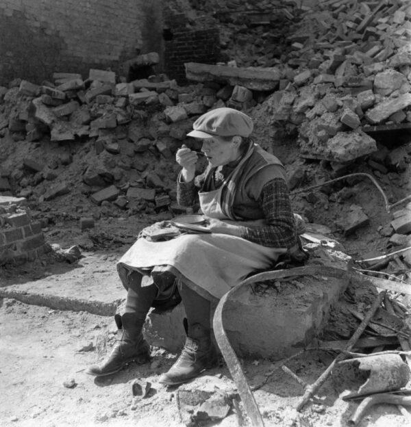 German woman in Berlin in 1946