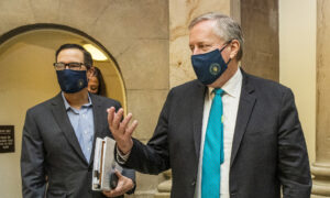 'Good Progress' on Virus Relief Bill But Deal Still 'Not Imminent': Meadows
