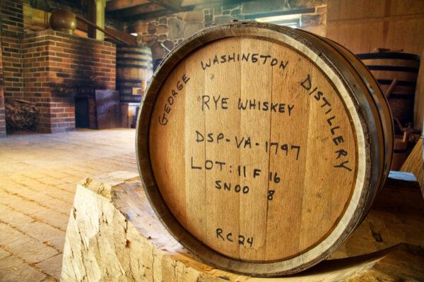 whiskey from george washington distillery