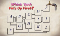 Can You Tell Which Water Tank Will Fill Up First? If You Solve It, You May Be a Physics Genius