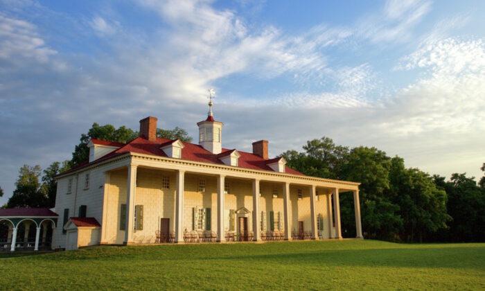 The Mount Vernon Mansion. (Courtesy of George Washington's Mount Vernon)