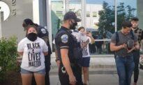 Police Arrest Pair Over 'Black Preborn Lives Matter' Chalk Drawing
