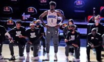 NBA's Jonathan Isaac Chooses to Stand for Anthem While Teammates Take a Knee