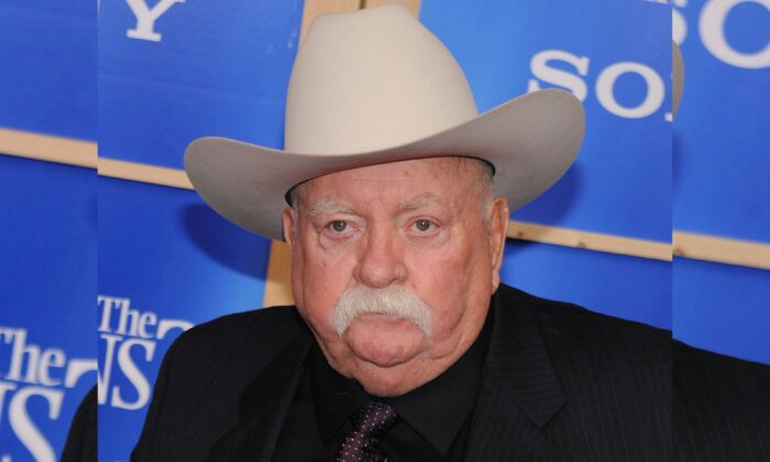 Actor Wilford Brimley attends the premiere of 'Did You Hear About The Morgans' at the Ziegfeld Theater in New York on Dec. 14, 2009.  (Evan Agostini/AP Photo, File)