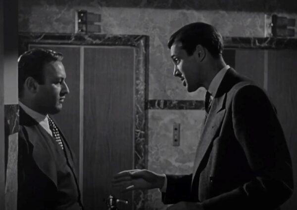 Lee J. Cobb and James Stewart