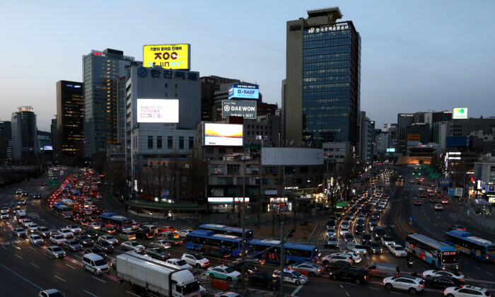 A general view of Seoul city on March 20, 2020 in Seoul, South Korea. (Chung Sung-Jun/Getty Images)
