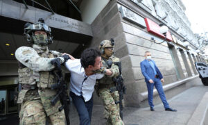 Ukraine Police Detain Man Who Took Hostage in Kyiv Bank