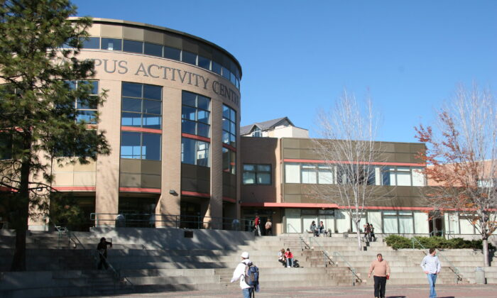 The Thompson Rivers University campus in Kamloops, British Columbia. (Courtesy Thompson Rivers University)