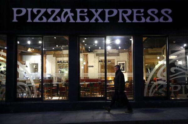 PizzaExpress lockdown jobs