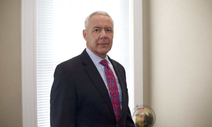 Rep. Ken Buck (R-Colo.) is seen at the Conservative Partnership Institute in Washington on July 27, 2020. (Brendon Fallon/The Epoch Times)