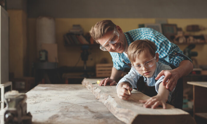 Even at a young age, some children exhibit certain inclinations toward a life's work. We can encourage children to pursue what they love. (AboutLife/Shutterstock)
