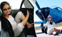 Pilot Born Without Arms Flies Plane With Her Feet, Lives the Motto: 'Never Give Up'
