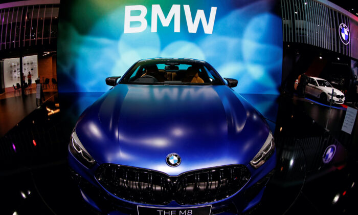 The BMW M8 is seen during the media day of the 41st Bangkok International Motor Show after the Thai government eased measures to prevent the spread of the coronavirus disease (COVID-19) in Bangkok, Thailand, on July 14, 2020. (Jorge Silva/File Photo/Reuters)