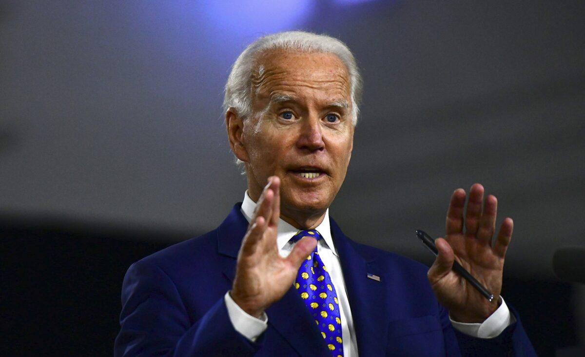 Biden Says He Wants Increased Funding for Police,...