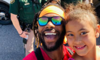 Black Dad Takes Daughter to Meet Cops, Teaches Her 'Love & Compassion Leaves No Room for Hate'