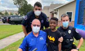 Conway Police Department and Residents Gift Boy New Bicycle After His Was Stolen