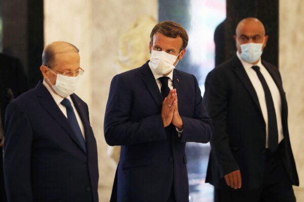 France Macron Lebanon Beirut