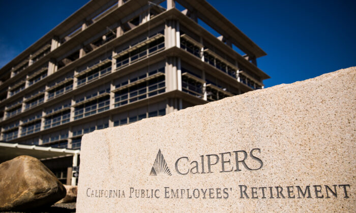 A view of California Public Employees' Retirement System (CalPERS) headquarters in Sacramento, Calif., on Feb. 14, 2017. (Max Whittaker/Reuters)