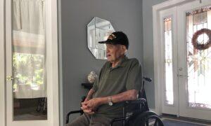 World War II Veteran Turns 105